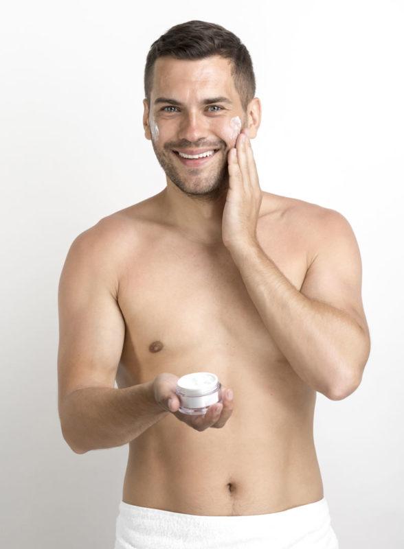 Cura della pelle maschile
