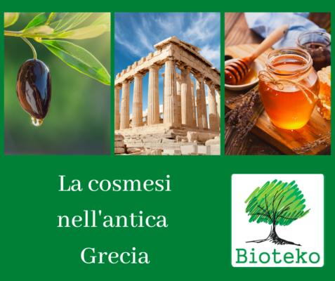 Bioteko cosmesi antica Grecia
